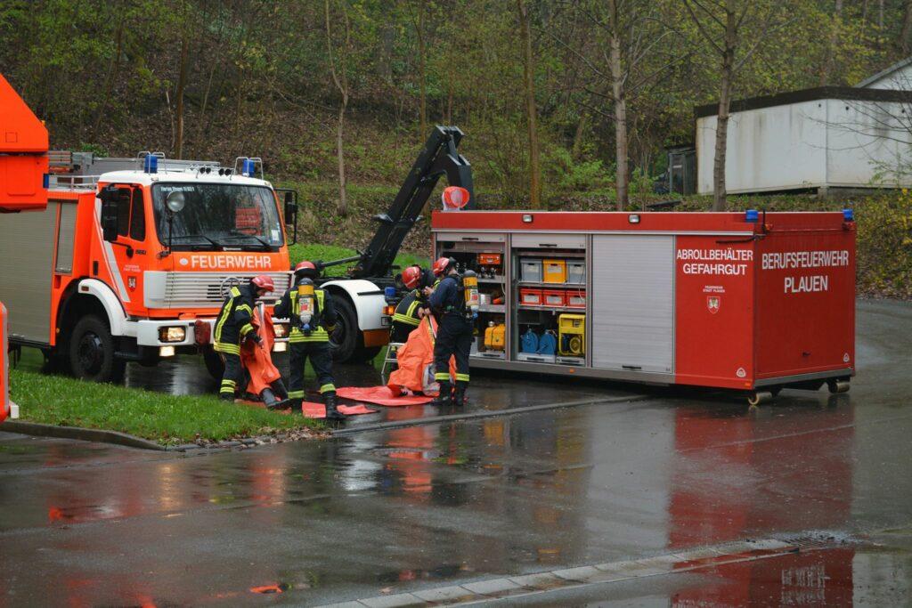 Quelle: Medienservice Vogtland Katschutz Übung bei Sternquell