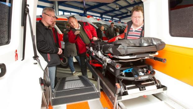 Rettungszweckverband erhält 22 neue Krankentransportwagen
